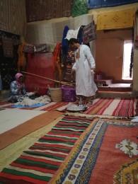 Къщана на семейство бербери в Тинджир